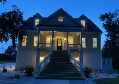 Richmond Hill Builder - Custom Home at night